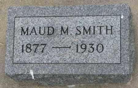 SMITH, MAUD M. - Dakota County, Nebraska | MAUD M. SMITH - Nebraska Gravestone Photos