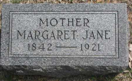 SMITH, MARGARET JANE - Dakota County, Nebraska | MARGARET JANE SMITH - Nebraska Gravestone Photos