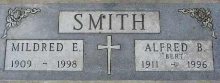 SMITH, MILDRED E. - Dakota County, Nebraska   MILDRED E. SMITH - Nebraska Gravestone Photos