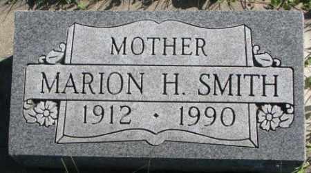 SMITH, MARION H. - Dakota County, Nebraska   MARION H. SMITH - Nebraska Gravestone Photos