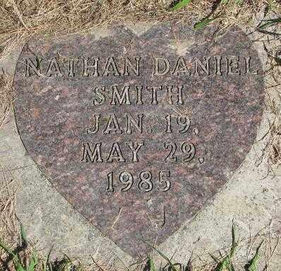 SMITH, NATHAN DANIEL - Dakota County, Nebraska | NATHAN DANIEL SMITH - Nebraska Gravestone Photos