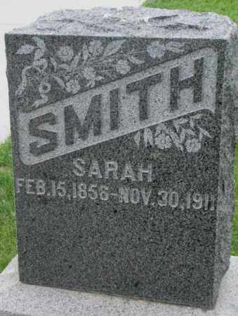 SMITH, SARAH - Dakota County, Nebraska | SARAH SMITH - Nebraska Gravestone Photos