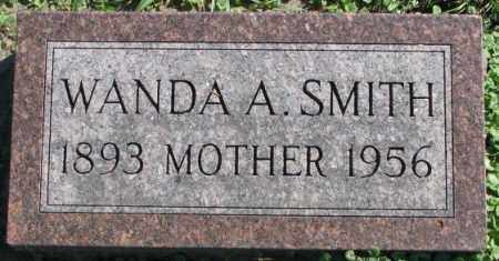 SMITH, WANDA A. - Dakota County, Nebraska   WANDA A. SMITH - Nebraska Gravestone Photos