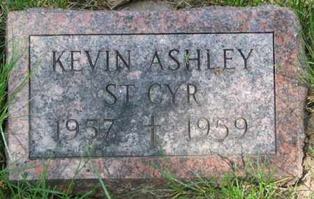 ST. CYR, KEVIN ASHLEY - Dakota County, Nebraska | KEVIN ASHLEY ST. CYR - Nebraska Gravestone Photos
