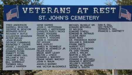 *ST. JOHNS, VETS ROSTER - Dakota County, Nebraska   VETS ROSTER *ST. JOHNS - Nebraska Gravestone Photos