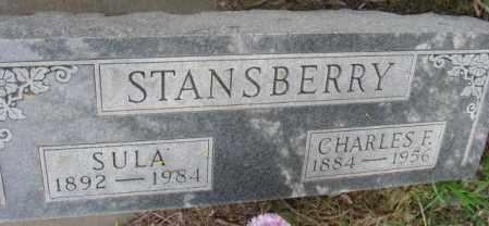 STANSBERRY, SULA - Dakota County, Nebraska | SULA STANSBERRY - Nebraska Gravestone Photos