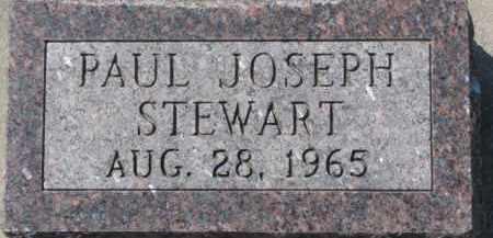 STEWART, PAUL JOSEPH - Dakota County, Nebraska   PAUL JOSEPH STEWART - Nebraska Gravestone Photos