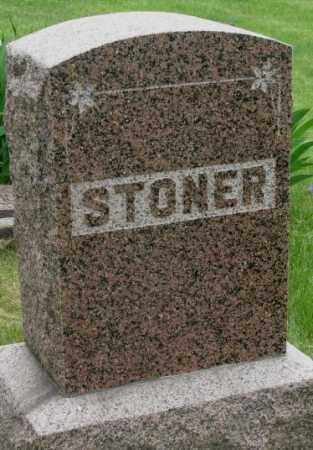 STONER, PLOT - Dakota County, Nebraska | PLOT STONER - Nebraska Gravestone Photos