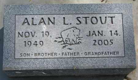 STOUT, ALAN L. - Dakota County, Nebraska | ALAN L. STOUT - Nebraska Gravestone Photos