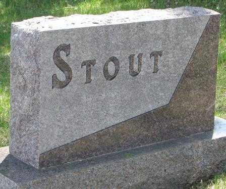 STOUT, PLOT - Dakota County, Nebraska | PLOT STOUT - Nebraska Gravestone Photos