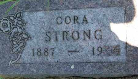 STRONG, CORA - Dakota County, Nebraska | CORA STRONG - Nebraska Gravestone Photos