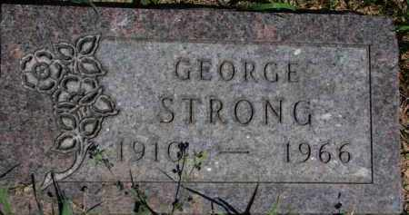 STRONG, GEORGE - Dakota County, Nebraska | GEORGE STRONG - Nebraska Gravestone Photos