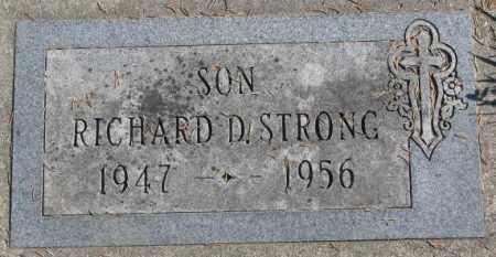 STRONG, RICHARD D. - Dakota County, Nebraska | RICHARD D. STRONG - Nebraska Gravestone Photos