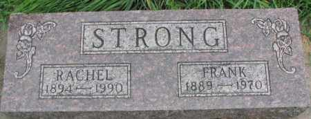 STRONG, RACHEL - Dakota County, Nebraska | RACHEL STRONG - Nebraska Gravestone Photos