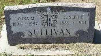 SULLIVAN, JOSEPH B. - Dakota County, Nebraska   JOSEPH B. SULLIVAN - Nebraska Gravestone Photos