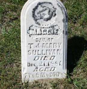SULLIVAN, MAGGIE - Dakota County, Nebraska | MAGGIE SULLIVAN - Nebraska Gravestone Photos