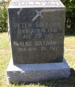 SULLIVAN, PETER - Dakota County, Nebraska | PETER SULLIVAN - Nebraska Gravestone Photos