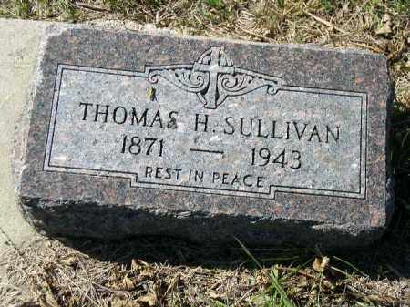 SULLIVAN, THOMAS H. - Dakota County, Nebraska | THOMAS H. SULLIVAN - Nebraska Gravestone Photos