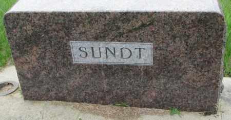SUNDT, PLOT - Dakota County, Nebraska | PLOT SUNDT - Nebraska Gravestone Photos