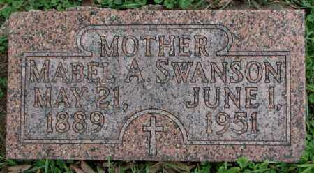 SWANSON, MABEL A. - Dakota County, Nebraska | MABEL A. SWANSON - Nebraska Gravestone Photos