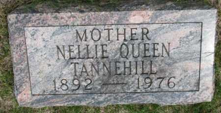 TANNEHILL, NELLIE - Dakota County, Nebraska | NELLIE TANNEHILL - Nebraska Gravestone Photos