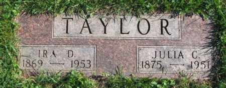 TAYLOR, JULIA C. - Dakota County, Nebraska | JULIA C. TAYLOR - Nebraska Gravestone Photos