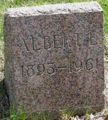 THACKER, ALBERT E. - Dakota County, Nebraska | ALBERT E. THACKER - Nebraska Gravestone Photos