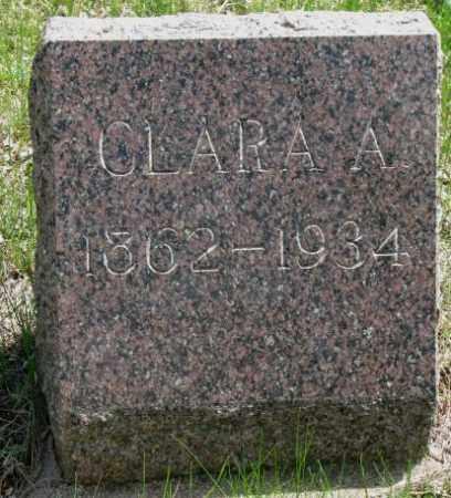 THACKER, CLARA A. - Dakota County, Nebraska | CLARA A. THACKER - Nebraska Gravestone Photos