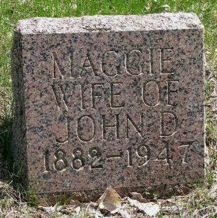 THACKER, MAGGIE - Dakota County, Nebraska | MAGGIE THACKER - Nebraska Gravestone Photos