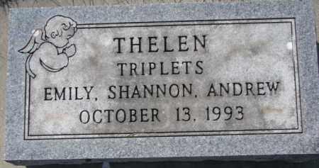 THELEN, ANDREW - Dakota County, Nebraska | ANDREW THELEN - Nebraska Gravestone Photos