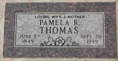 THOMAS, PAMELA R. - Dakota County, Nebraska | PAMELA R. THOMAS - Nebraska Gravestone Photos