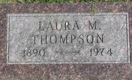 THOMPSON, LAURA M. - Dakota County, Nebraska | LAURA M. THOMPSON - Nebraska Gravestone Photos