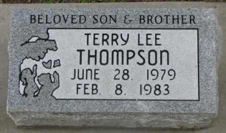 THOMPSON, TERRY LEE - Dakota County, Nebraska | TERRY LEE THOMPSON - Nebraska Gravestone Photos