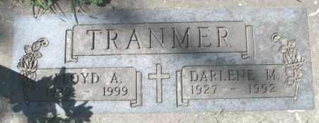 TRANMER, DARLENE M. - Dakota County, Nebraska | DARLENE M. TRANMER - Nebraska Gravestone Photos