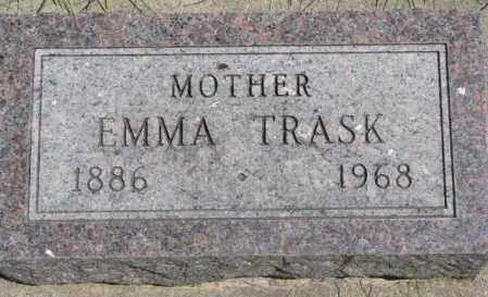 TRASK, EMMA - Dakota County, Nebraska | EMMA TRASK - Nebraska Gravestone Photos