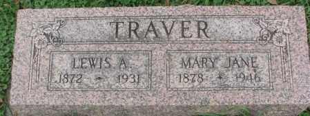 TRAVER, MARY JANE - Dakota County, Nebraska | MARY JANE TRAVER - Nebraska Gravestone Photos