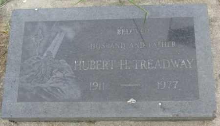 TREADWAY, HUBERT H. - Dakota County, Nebraska   HUBERT H. TREADWAY - Nebraska Gravestone Photos