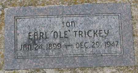 "TRICKEY, EARL ""OLE"" - Dakota County, Nebraska | EARL ""OLE"" TRICKEY - Nebraska Gravestone Photos"