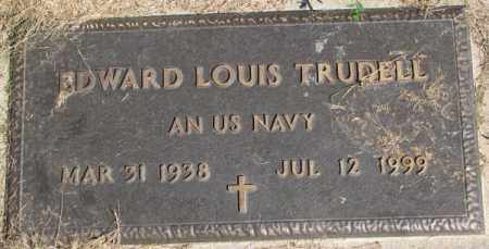 TRUDELL, EDWARD LOUIS - Dakota County, Nebraska | EDWARD LOUIS TRUDELL - Nebraska Gravestone Photos