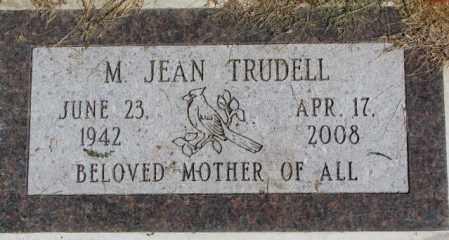 TRUDELL, M. JEAN - Dakota County, Nebraska | M. JEAN TRUDELL - Nebraska Gravestone Photos