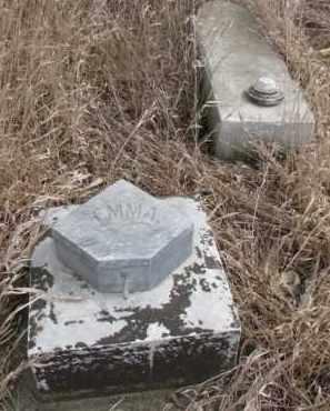 UNKNOWN, EMMA - Dakota County, Nebraska | EMMA UNKNOWN - Nebraska Gravestone Photos