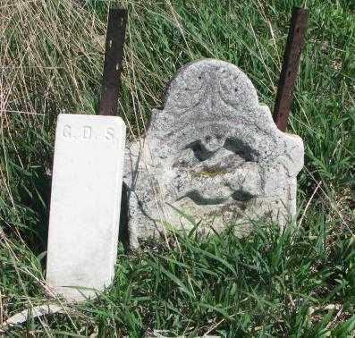 UNKNOWN, G.D.S. - Dakota County, Nebraska | G.D.S. UNKNOWN - Nebraska Gravestone Photos
