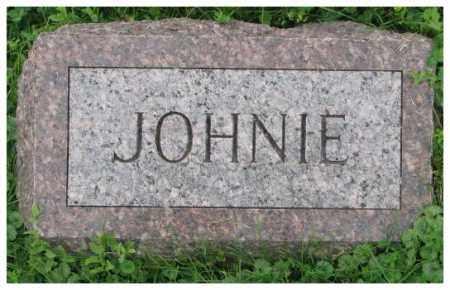 UNKNOWN, JOHNIE - Dakota County, Nebraska | JOHNIE UNKNOWN - Nebraska Gravestone Photos