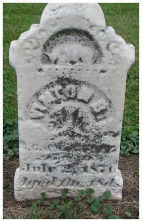 UNKNOWN, VINTON B. - Dakota County, Nebraska | VINTON B. UNKNOWN - Nebraska Gravestone Photos