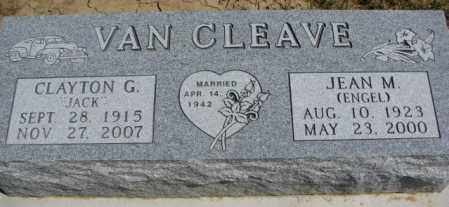 VAN CLEAVE, JEAN M. - Dakota County, Nebraska | JEAN M. VAN CLEAVE - Nebraska Gravestone Photos