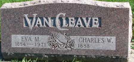 VAN CLEAVE, CHARLES W. - Dakota County, Nebraska | CHARLES W. VAN CLEAVE - Nebraska Gravestone Photos