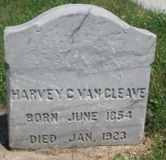 VAN CLEAVE, HARVEY C. - Dakota County, Nebraska   HARVEY C. VAN CLEAVE - Nebraska Gravestone Photos