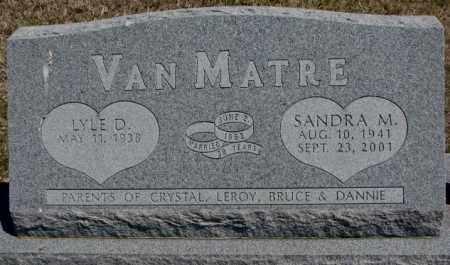 VAN MATRE, SANDRA M. - Dakota County, Nebraska | SANDRA M. VAN MATRE - Nebraska Gravestone Photos