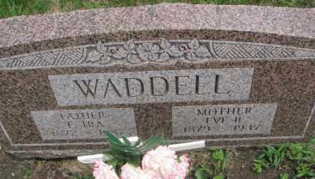 WADDELL, F. IRA - Dakota County, Nebraska | F. IRA WADDELL - Nebraska Gravestone Photos