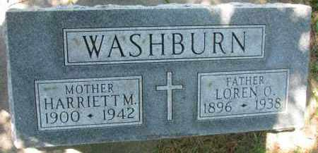 WASHBURN, LOREN O. - Dakota County, Nebraska | LOREN O. WASHBURN - Nebraska Gravestone Photos